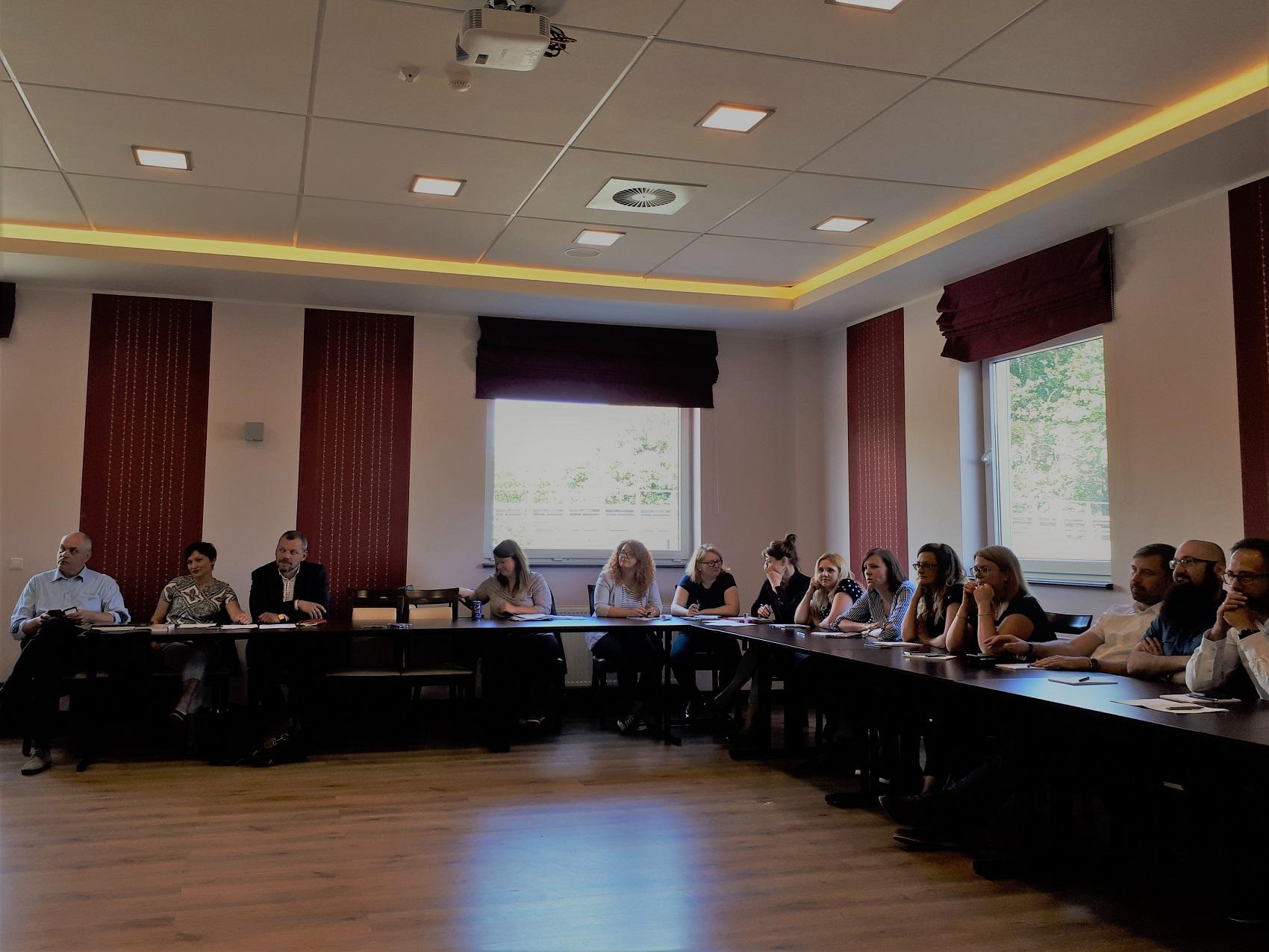 """Pierwsze spotkanie """"Sieci współpracy województw: pomorskiego, śląskiego, kujawsko-pomorskiego i łódzkiego w zakresie usprawnienia wdrożenia EFS w wymiarze regionalnym"""""""