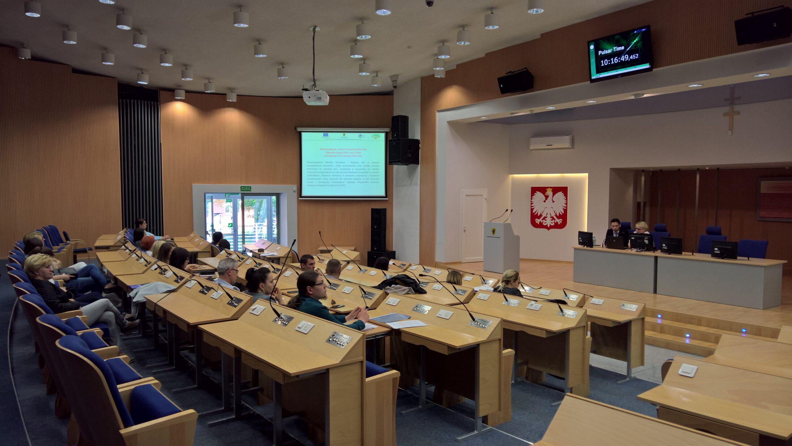 Spotkanie informacyjne dla beneficjentów PROW na lata 2014-2020