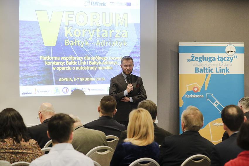 V Forum Korytarza Bałtyk – Adriatyk. Gdynia 2018