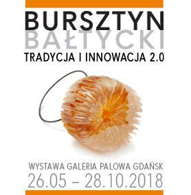 Baner wystawy Bursztyn bałtycki