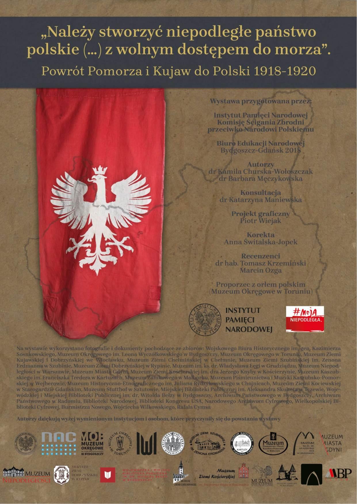 Plakat wystawy IPN