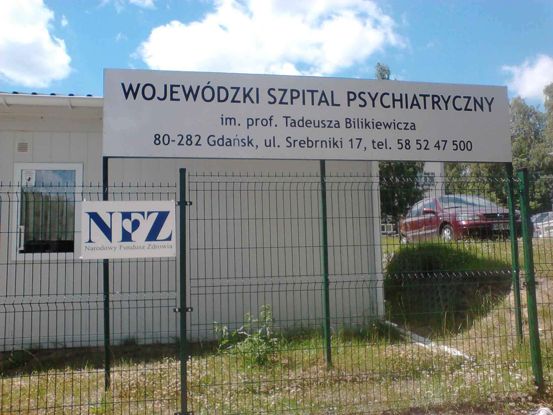W szpitalu na Srebrzysku cały czas trwa kontrola. Sprawdzane są m.in. procedury