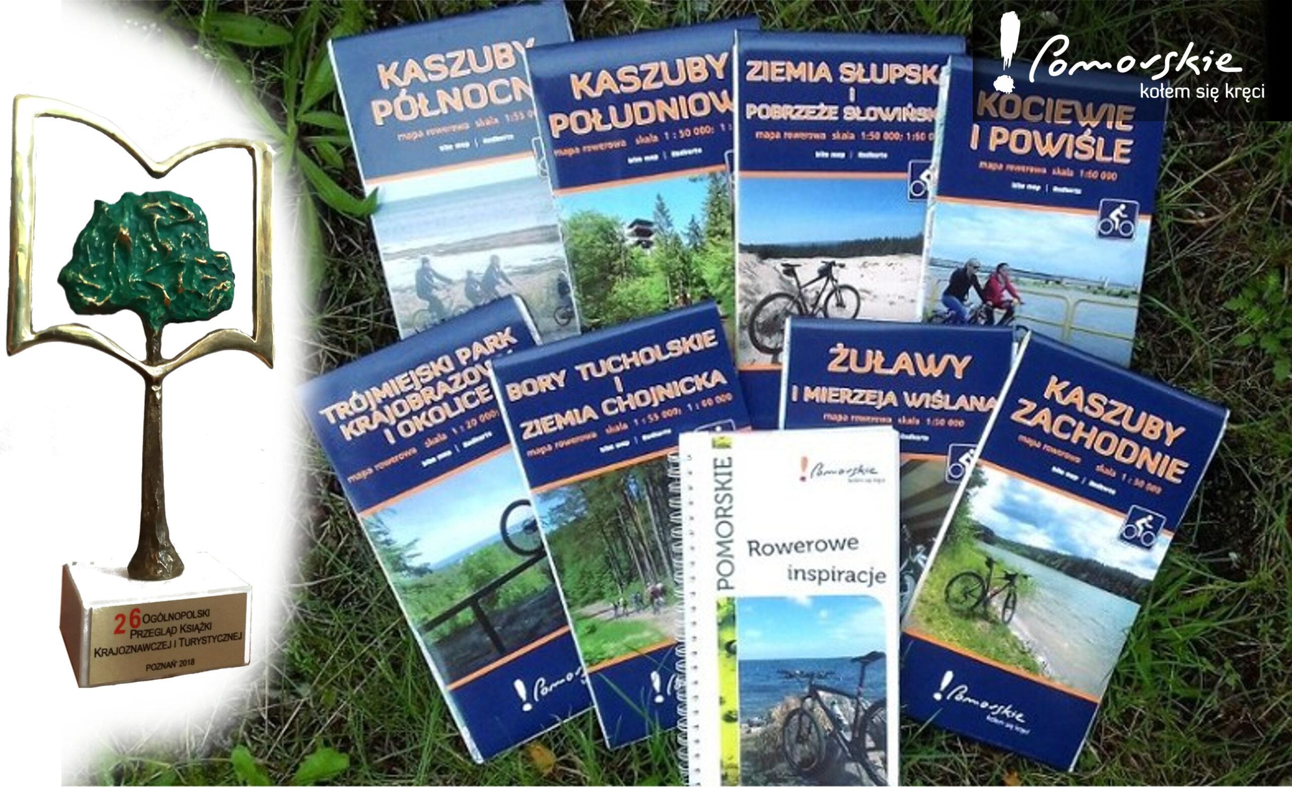 !Pomorskie mapy rowerowe z nagrodą Ogólnopolskiego Przeglądu Książki Krajoznawczej i Turystycznej