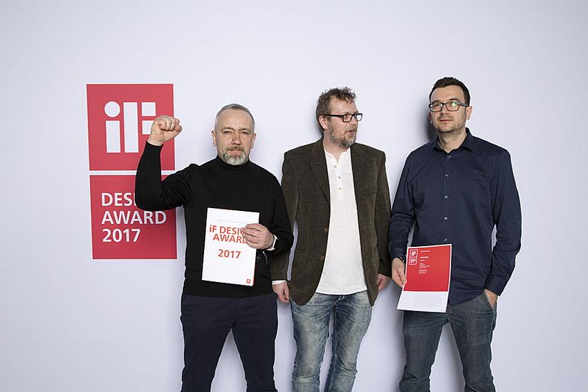 Projektanci z Gdyni zwycięzcami If Design Award 2017. Nagroda za nagrzewnicę