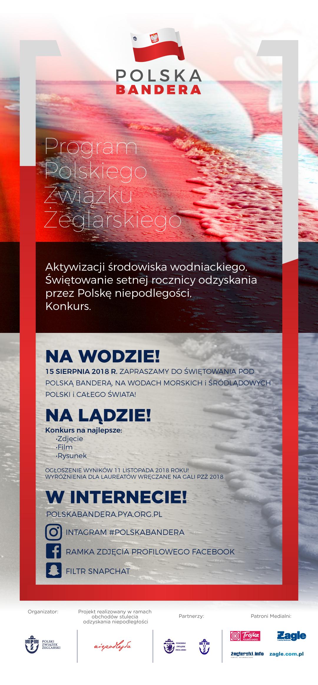 Baner programu Polska Bandera 2018