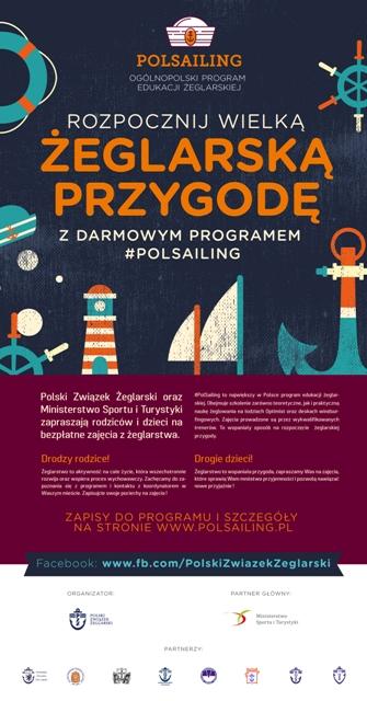 Program Edukacji Żeglarskiej_plakat