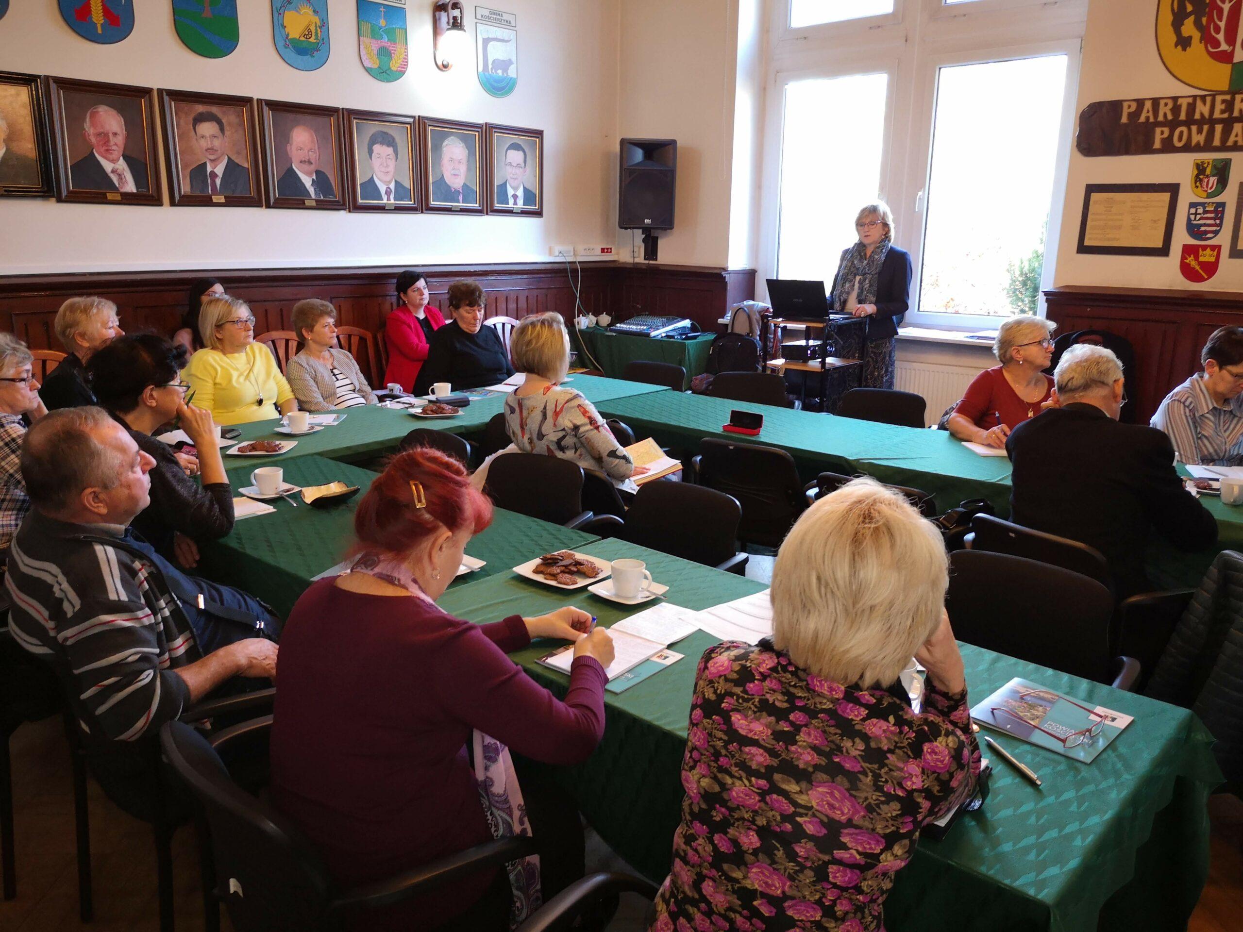 O możliwościach finansowania projektów senioralnych w Kościerzynie i Czarnem
