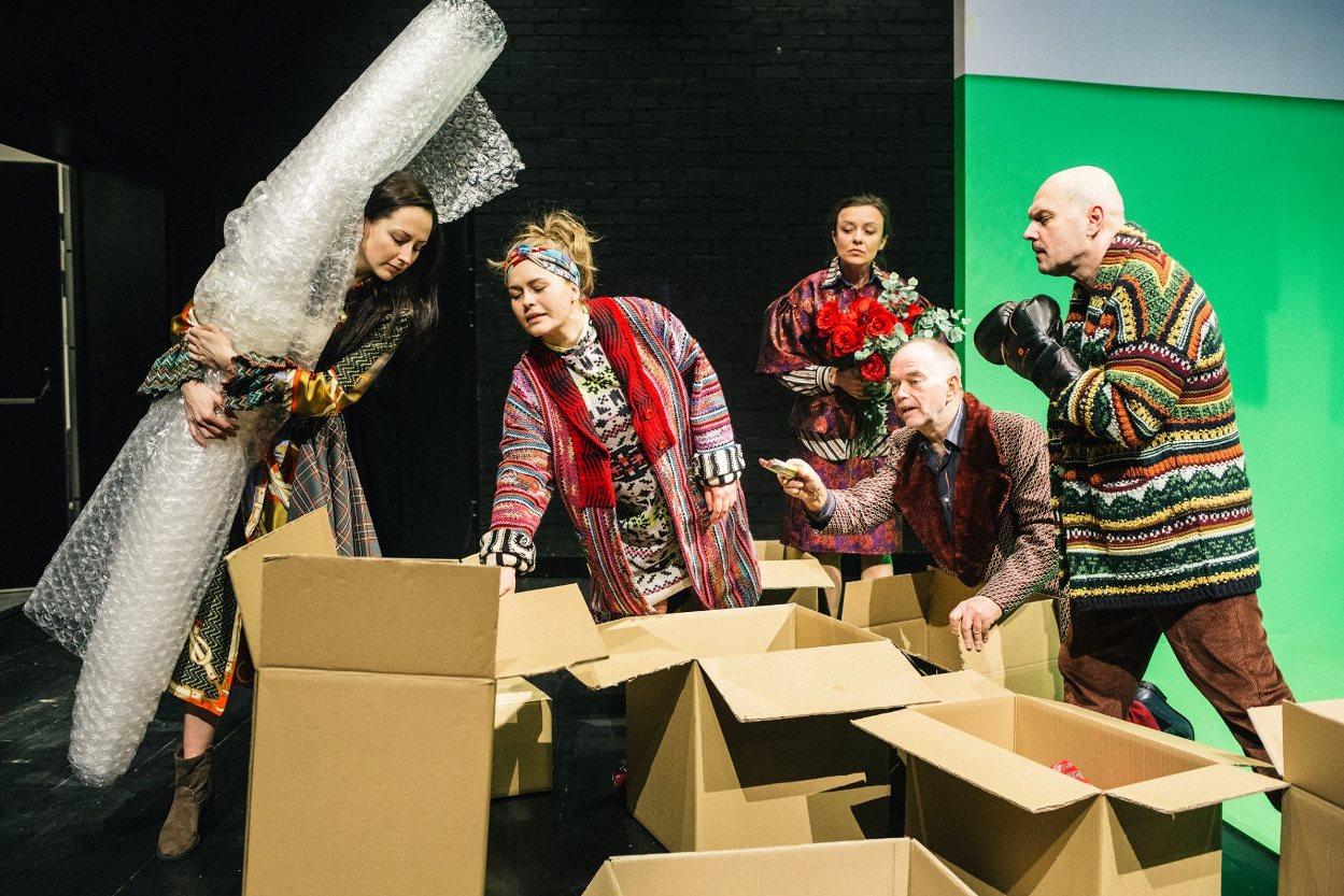 """Spektakl o życiu pomiędzy Ukrainą i Polską. """"Więzi"""" na deskach Teatru Wybrzeże [PRAPREMIERA]"""