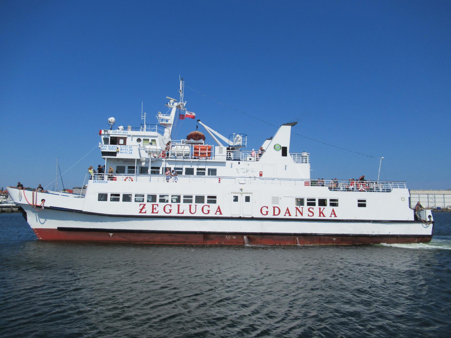 Wycieczka po trójmiejskich portach czy rejs na Hel? Statki Żeglugi Gdańskiej zapraszają na wody Zatoki