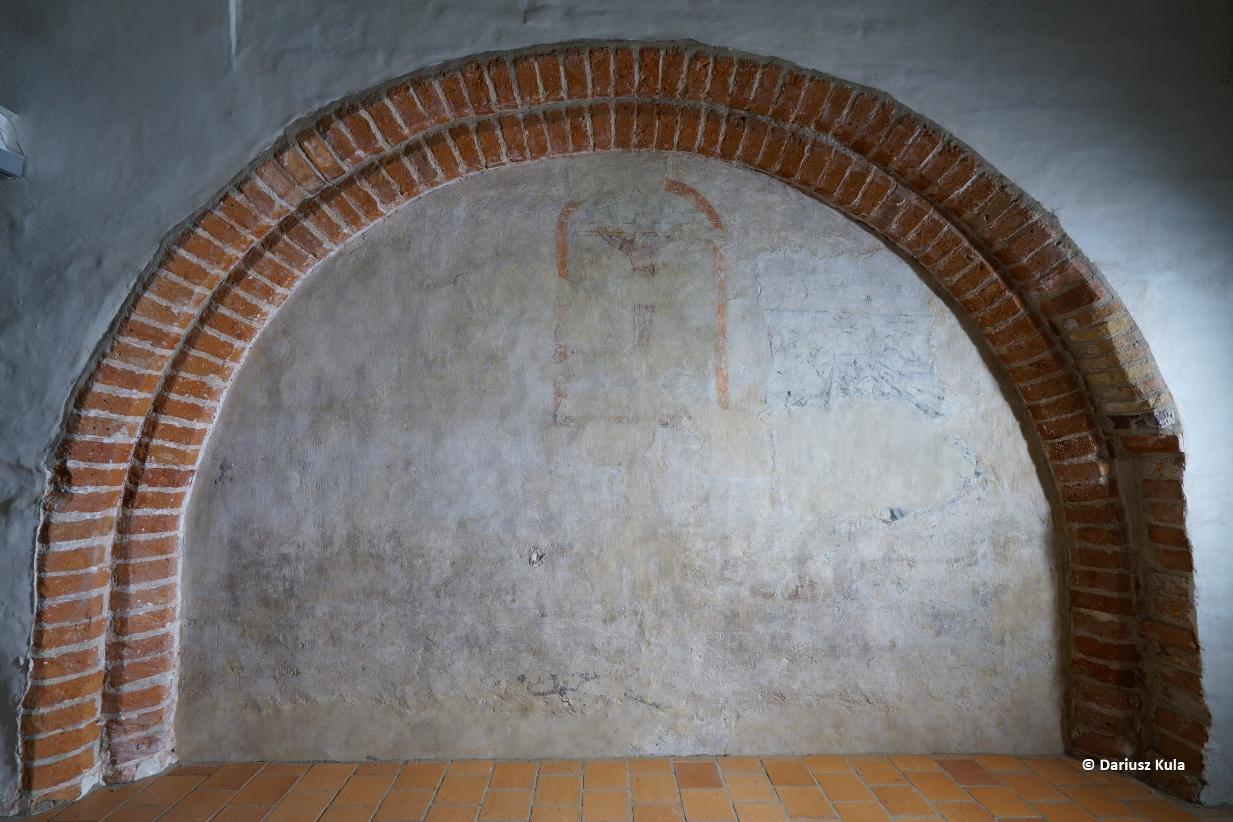Zamurowane przejścia, tajne korytarze i średniowieczne malowidła. Poznaj sekrety Galerii Palowej