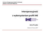 Prezentacja IHE