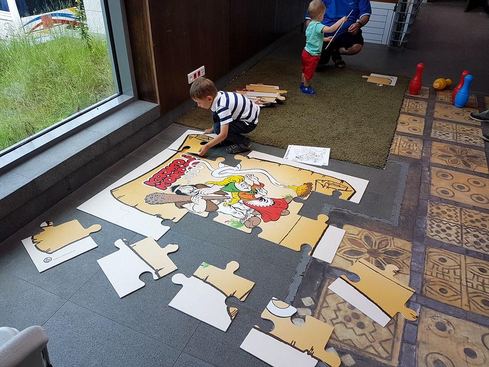 Rodzinna zabawa z Kajkiem i Kokoszem. Dzień Dziecka na grodzisku w Sopocie