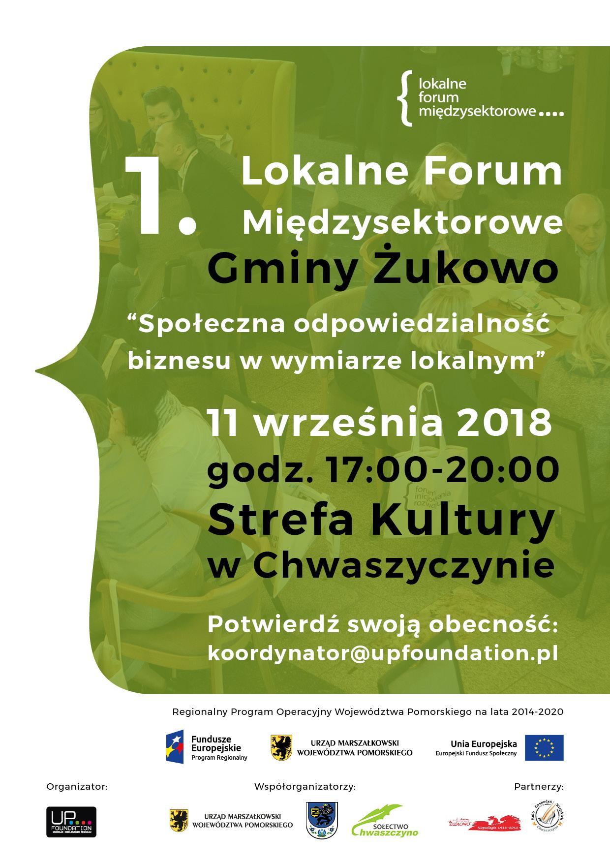 Lokalne Forum Międzysektorowe w Żukowie