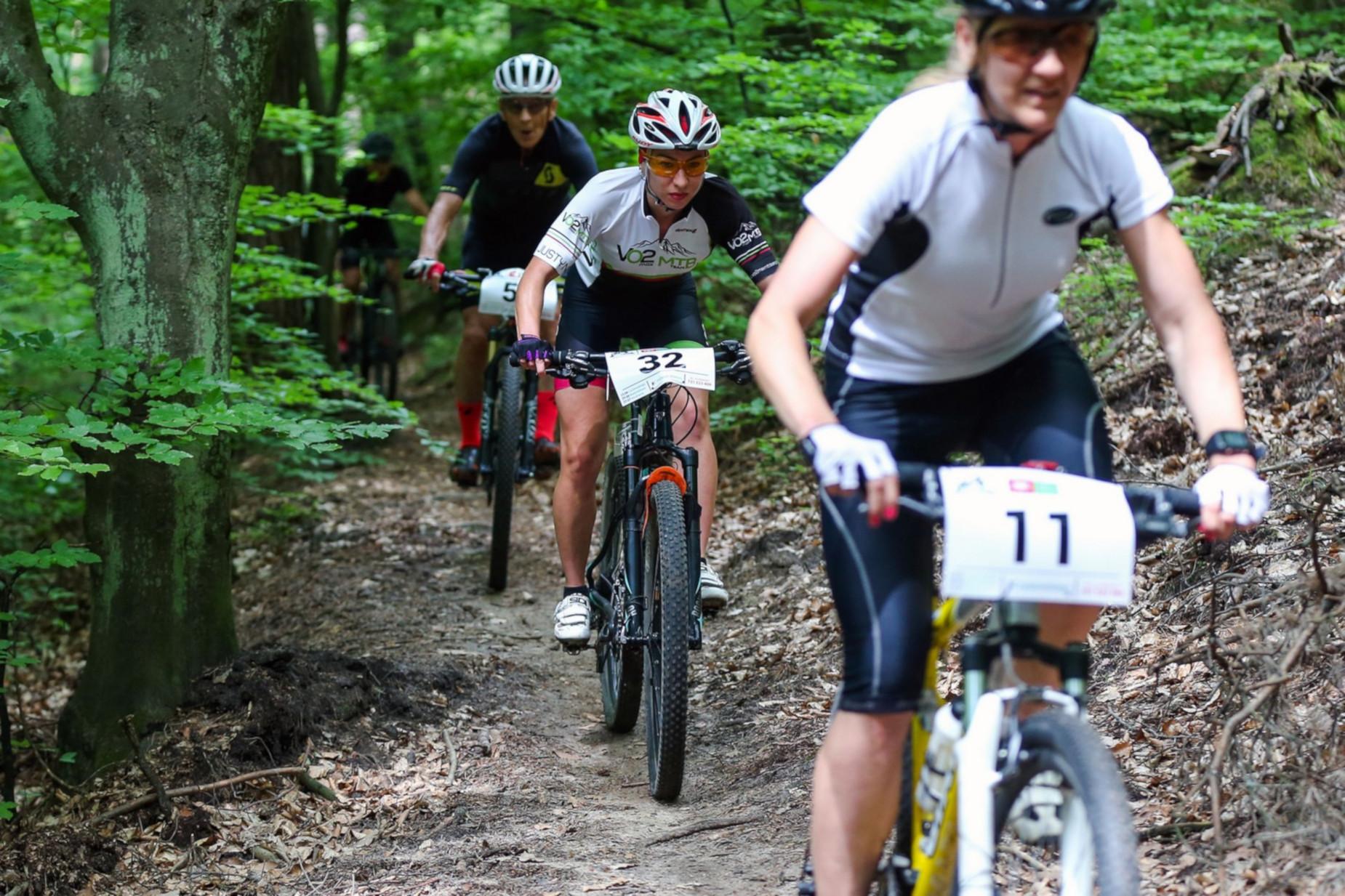 Druga runda rowerowego ścigania w Trójmiejskim Parku Krajobrazowym. Zawody XC w Matemblewie