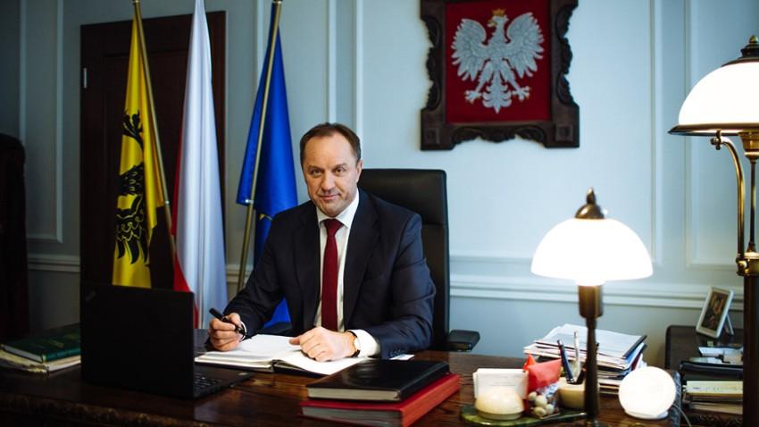 Marszałek Mieczysław Struk jest zdrowy. Opuścił szpital i przebywa w domu