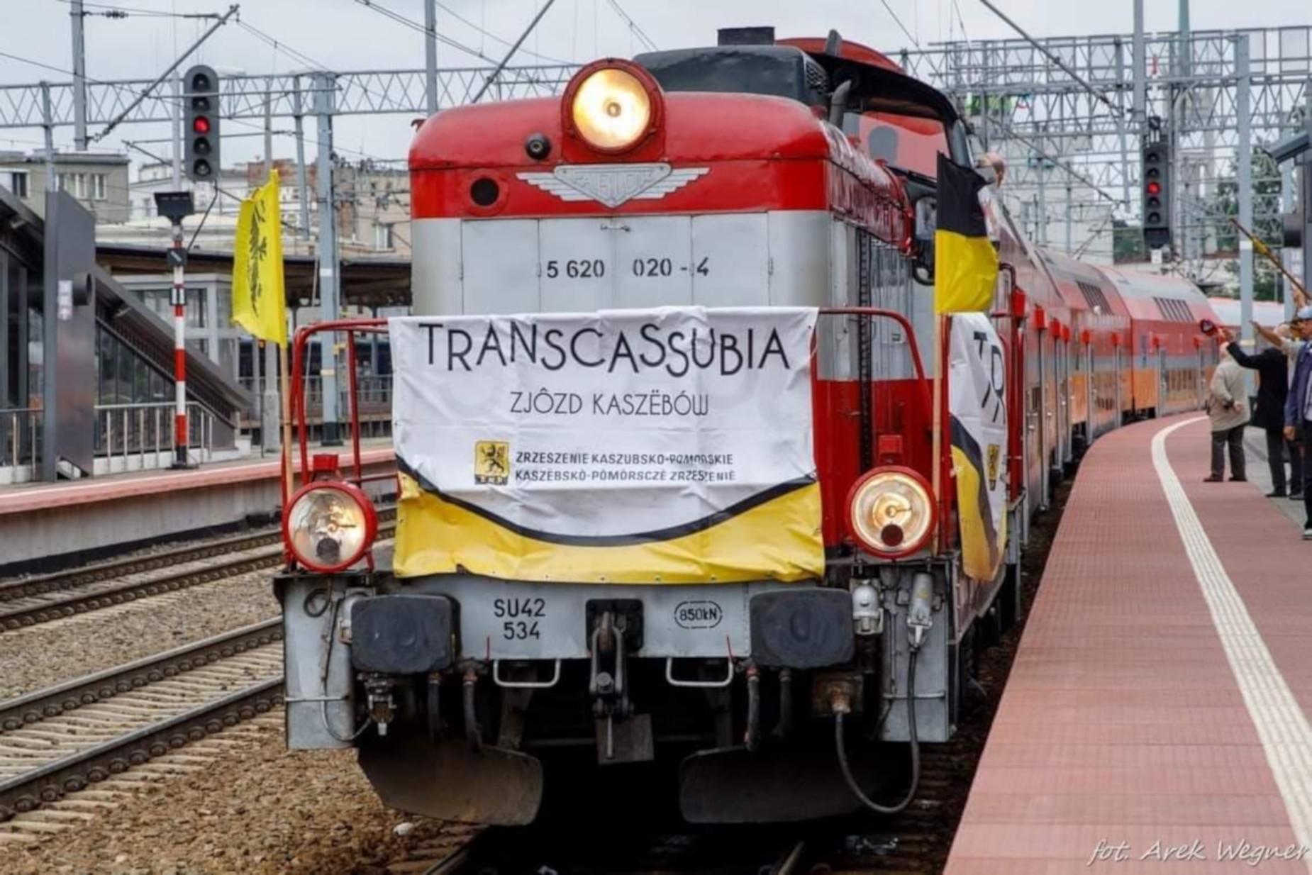 Transcassubią na XXI Światowy Zjazd Kaszubów. Specjalny pociąg do Chojnic [ROZKŁAD JAZDY]