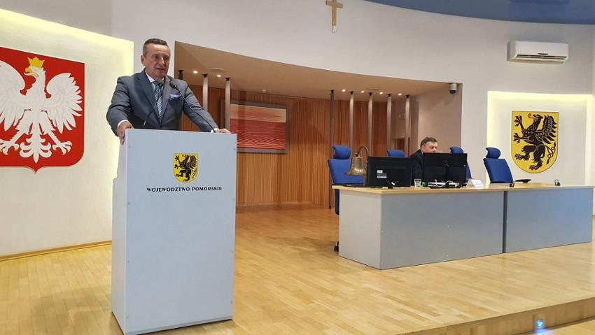 Wicemarszałek województwa pomorskiego Leszek Bonna Fot. Dorota Patzer