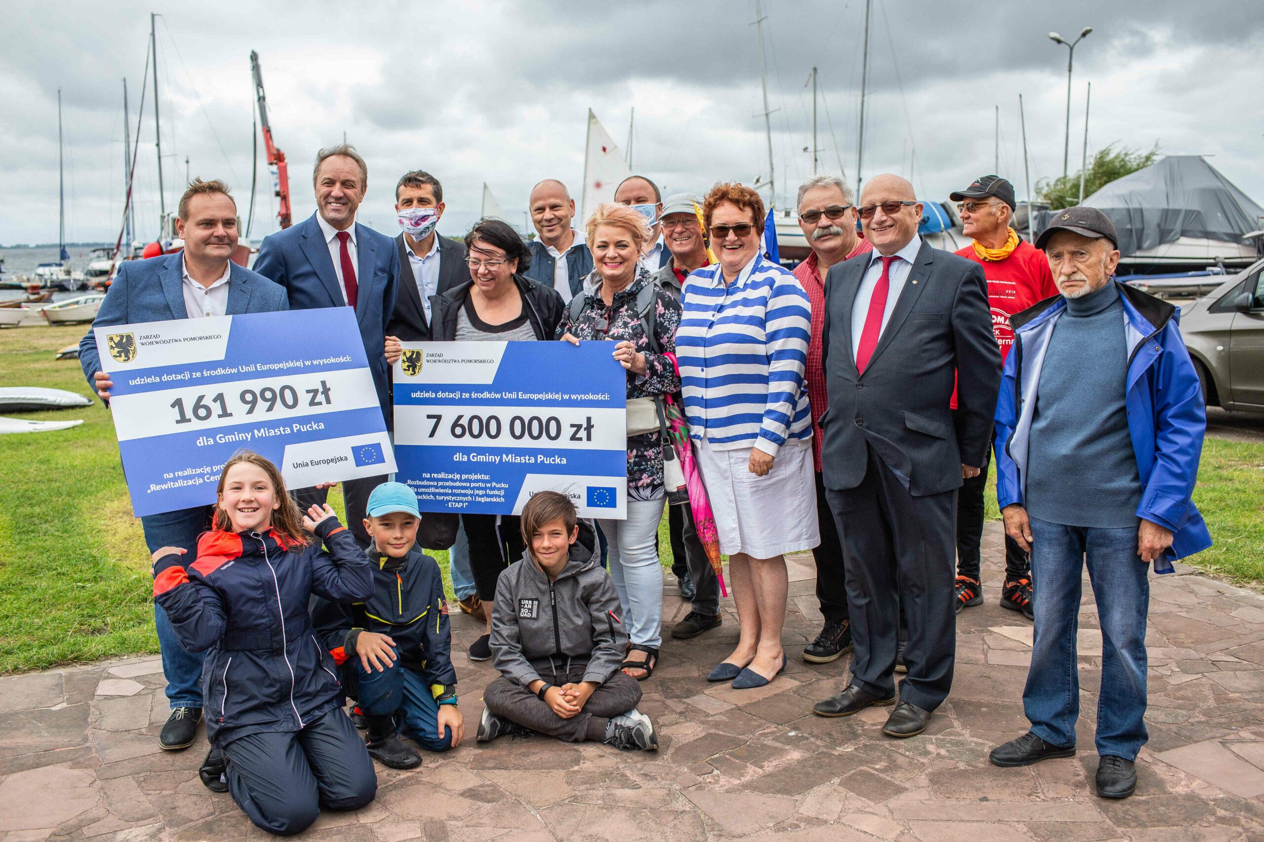 Prawie 7,8 mln zł dodatkowego unijnego wsparcia dla Pucka