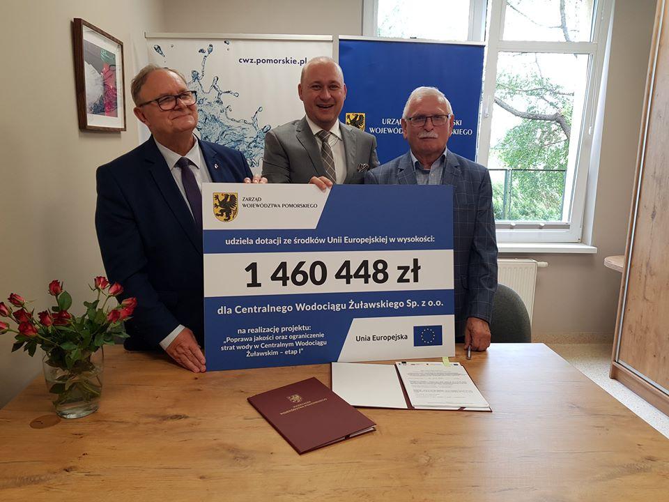 Dodatkowe wsparcie ważnej inwestycji na Żuławach