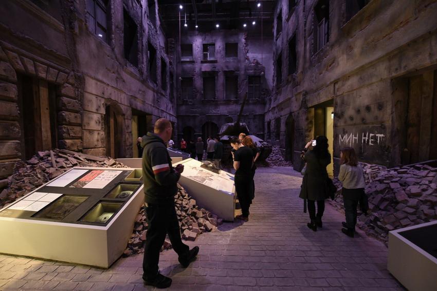 Wystawa stała w Muzeum II Wojny Światowej w Gdańsku. Fot. Roman Jocher