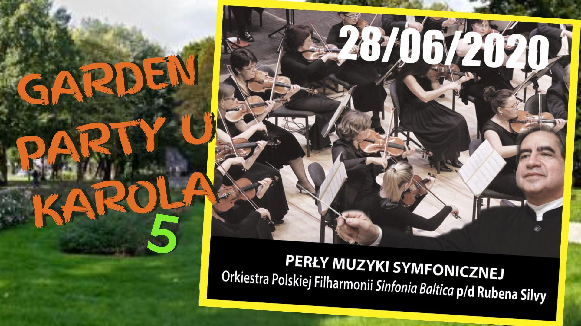 Symfoniczny początek muzycznych spotkań w Słupsku. V edycja Garden Party u Karola