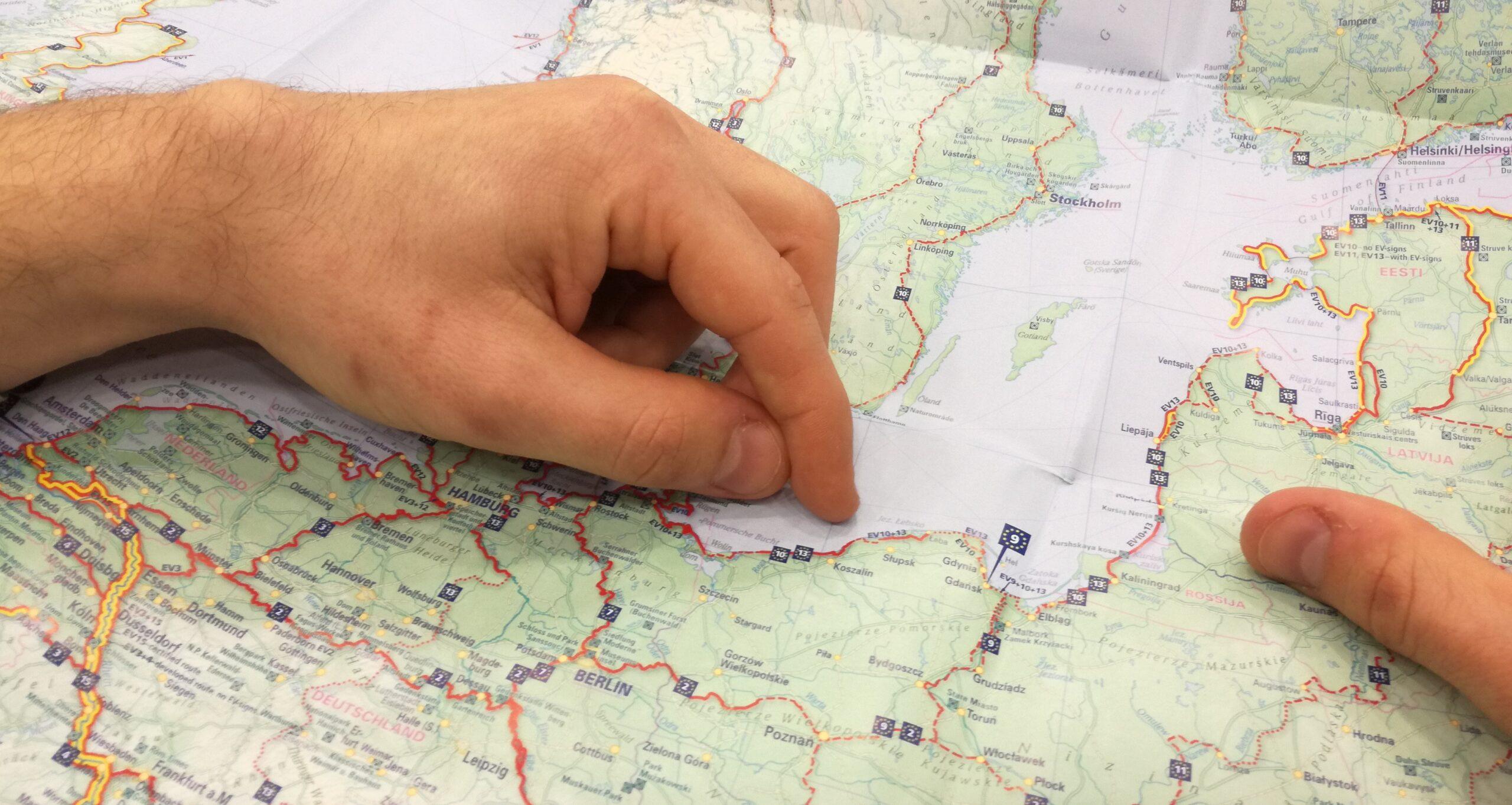 """""""Biking South Baltic! –  rozwój i promocja międzynarodowego szlaku rowerowego EuroVelo10."""