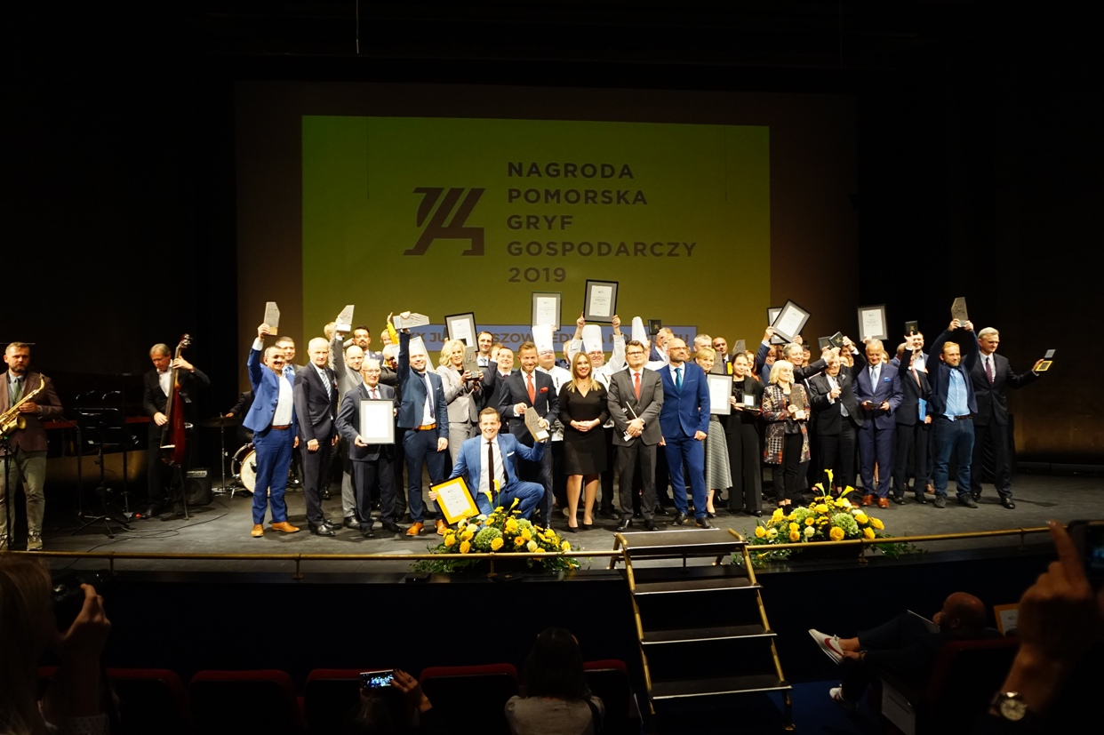 Już po raz 20. nagrodzono najlepsze firmy naszego regionu. Jubileuszowa gala finałowa Gryfa Gospodarczego [ZDJĘCIA]