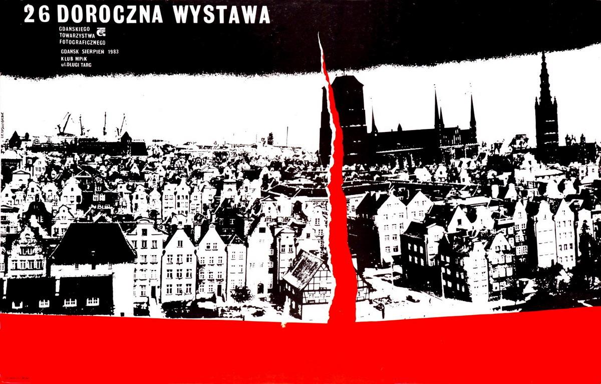 Plakaty Krzysztofa Jakubowskiego w nowej galerii. 70 lat Gdańskiego Towarzystwa Fotograficznego