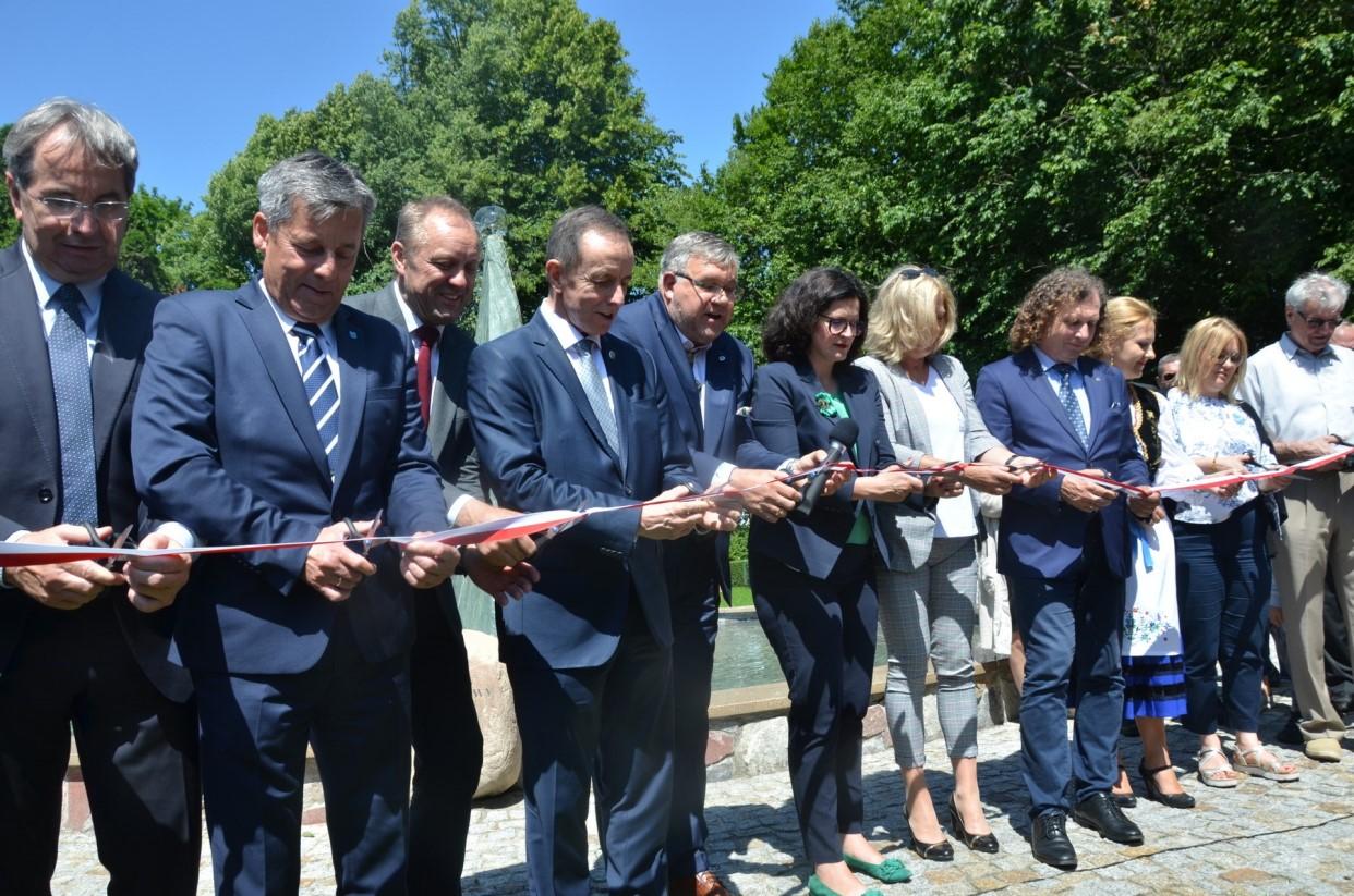 Uroczyste otwarcie parku w Kartuzach