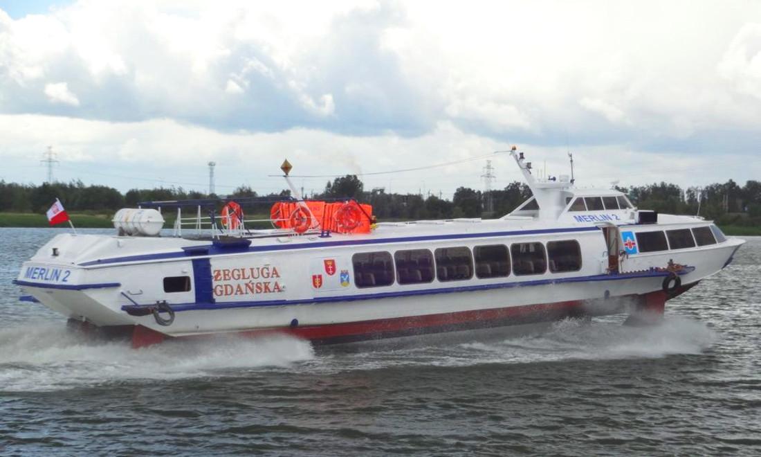 Wodolotem z Gdyni do Helu dopłyniemy w 25 minut. Jaką prędkość osiągają te jednoski?