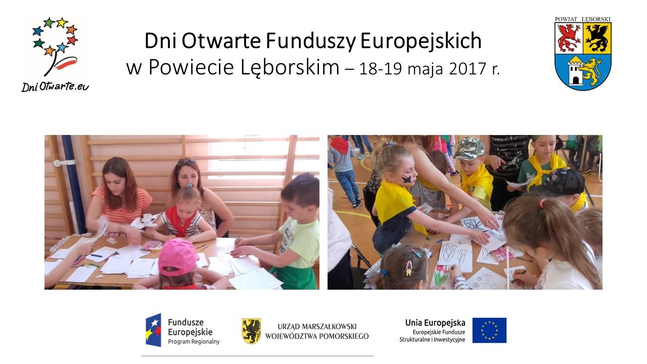 Świetna zabawa i edukacja. Tak wyglądały Dni Otwarte Funduszy Europejskich w Lęborku