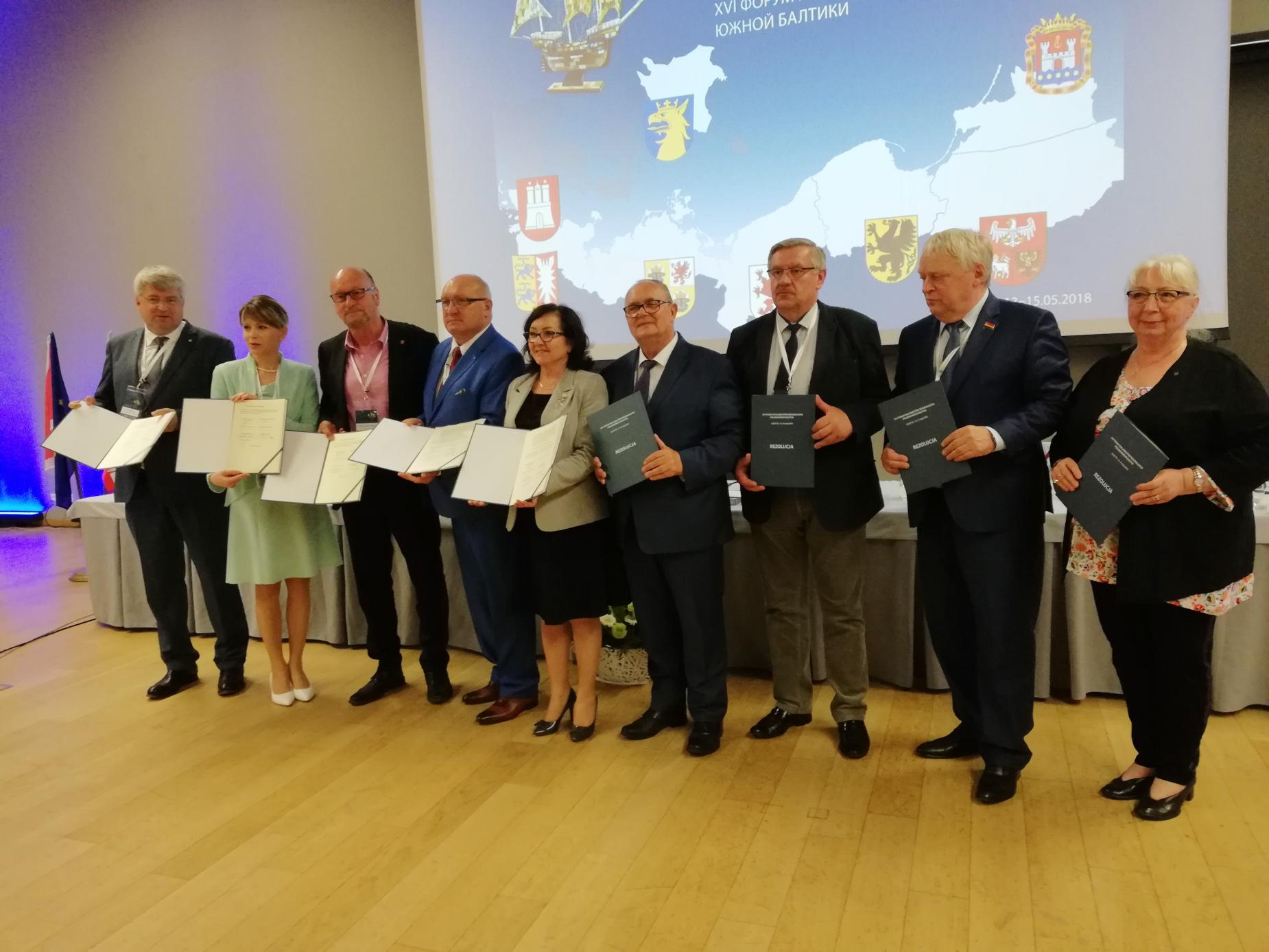 Dyskusje o ekologicznym transporcie i regionalnej tożsamości. Spotkanie regionalnych parlamentów państw bałtyckich