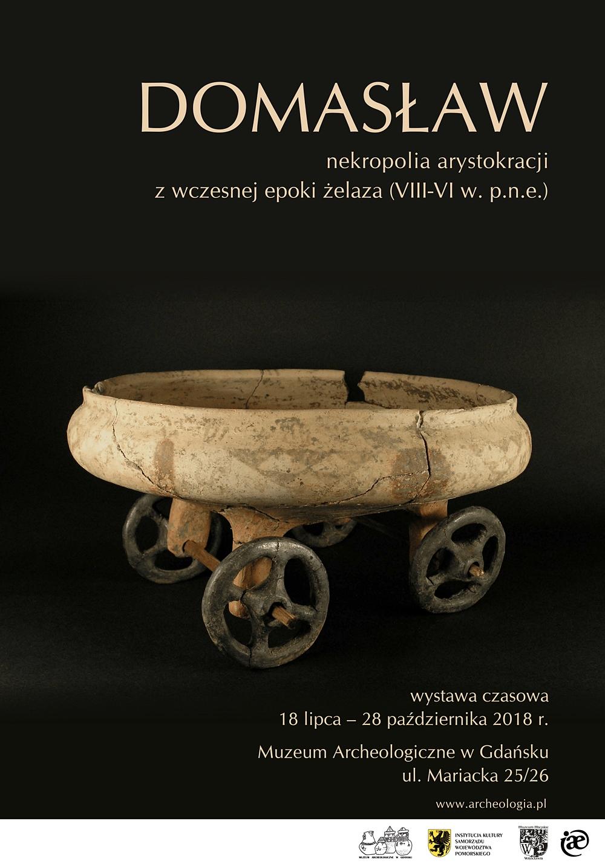 Domasław - plakat wystawy