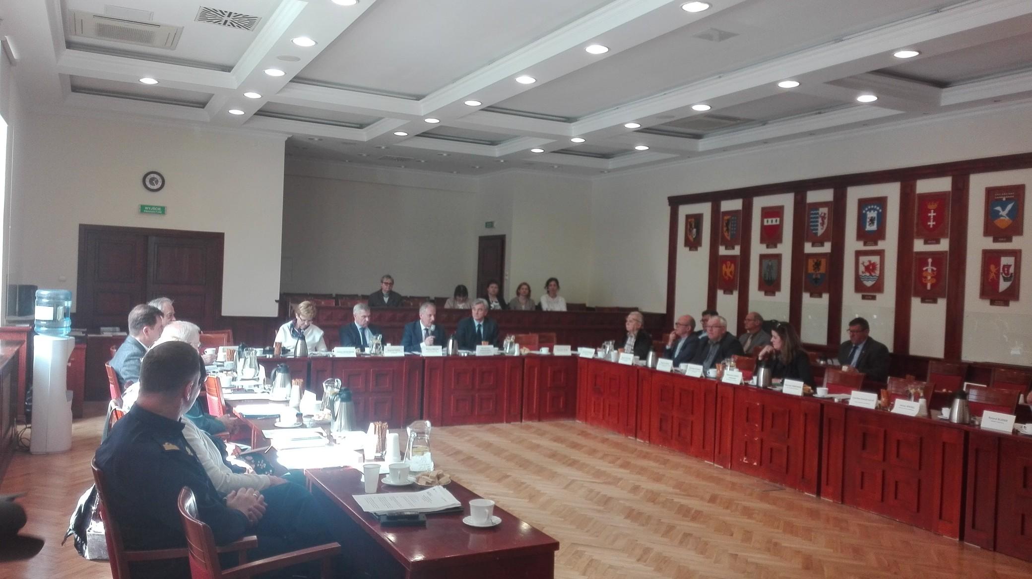 Gospodarka morska i zatrudnianie cudzoziemców tematami plenarnego posiedzenia WRDS 26 kwietnia 2018 r.