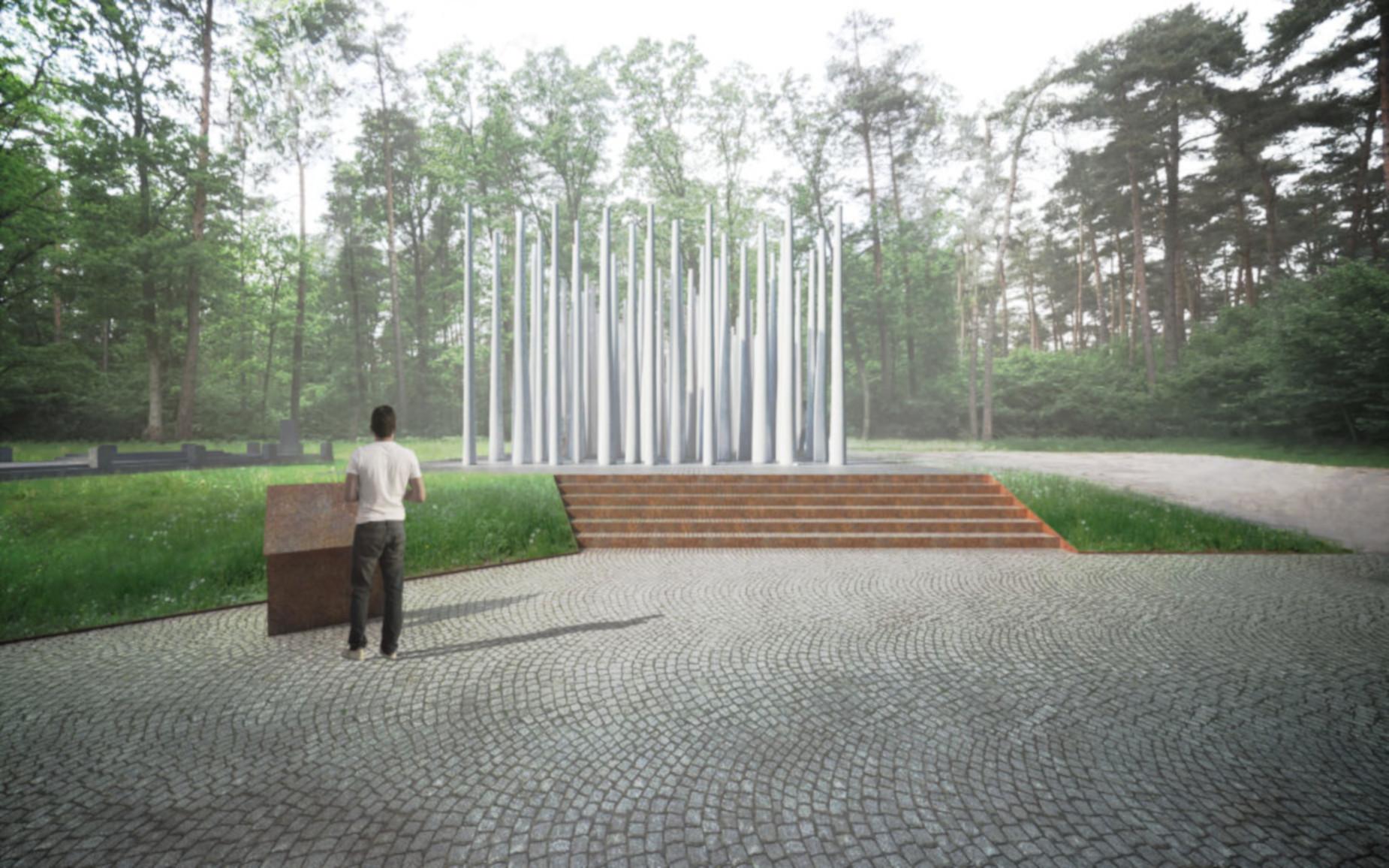 Pomorze upamiętni pomordowanych w Lesie Szpęgawskim.  180 tysięcy zł na pomnik ofiar niemieckiego ludobójstwa