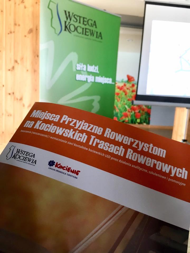 Rozpoczyna się przygotowanie do wprowadzanie systemu obiektów Przyjaznych Rowerzystom na Kociewiu – Seminarium wprowadzające