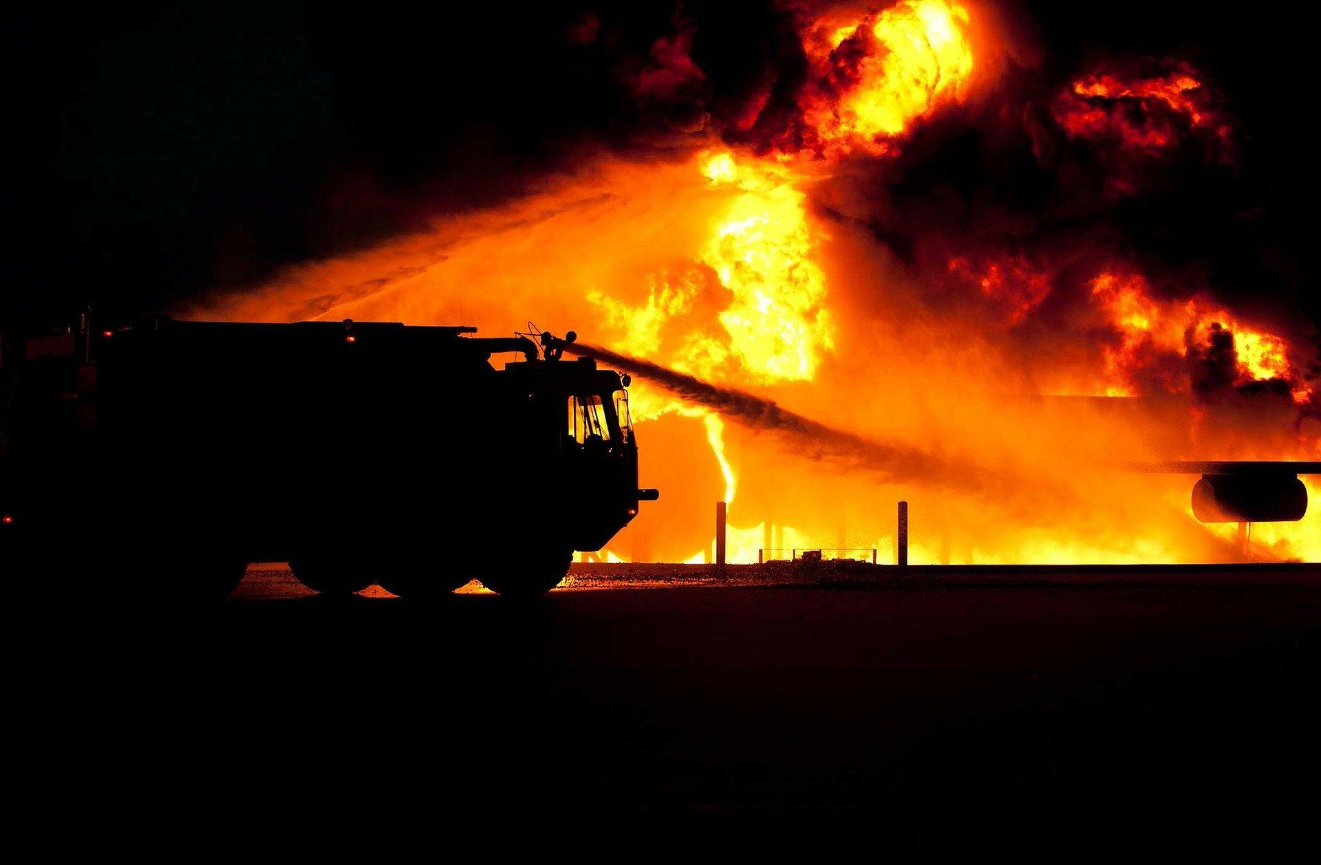 Cztery osoby zginęły w pożarze hospicjum w Chojnicach. Burmistrz ogłosił dwudniową żałobę