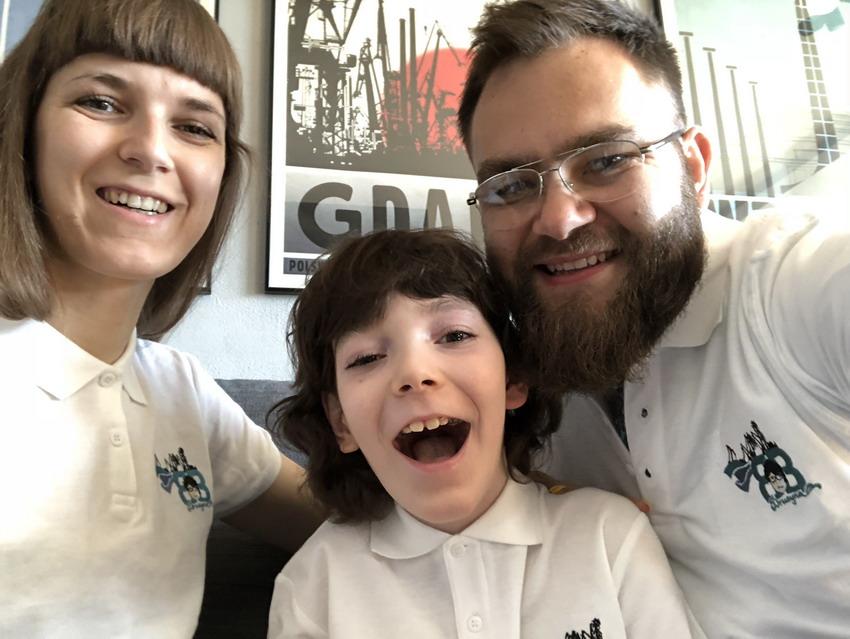 3. urodziny 9-letniego chłopca. Bohater Borys zaprasza do Ratusza Staromiejskiego w Gdańsku