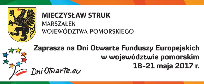 Zaproszenie marszałka na Dni Otwarte Funduszy Europejskich 2017