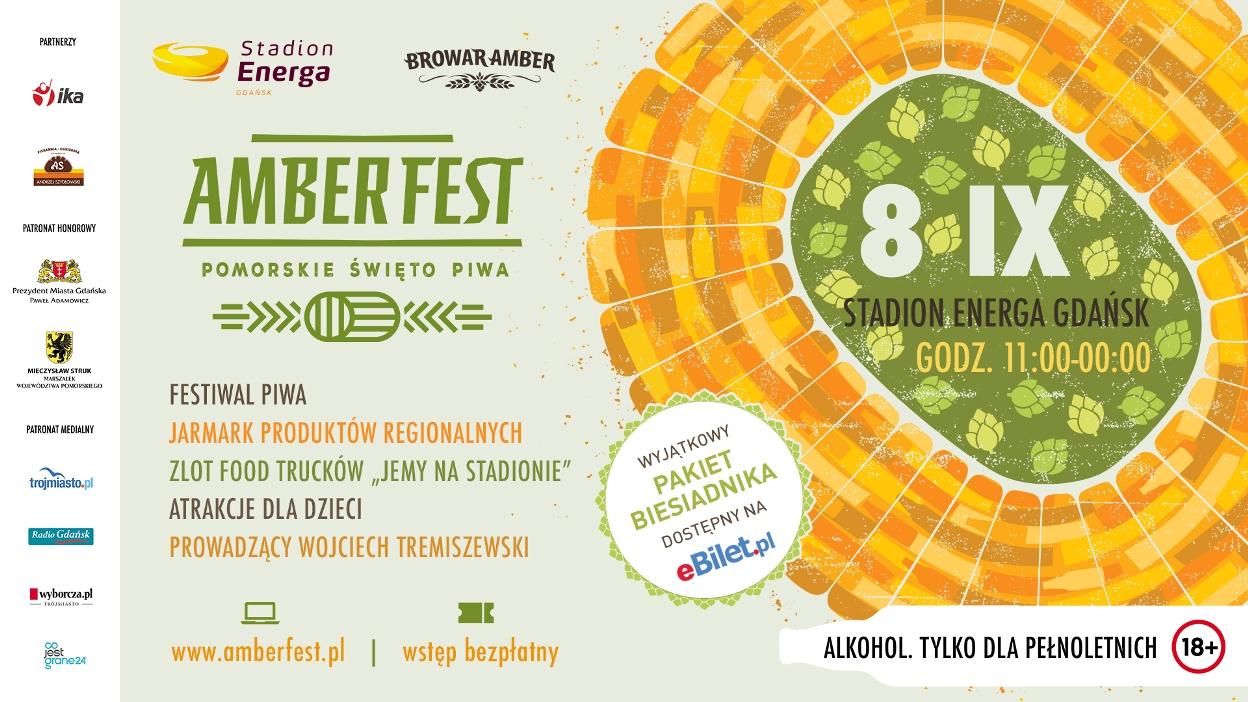 Plakat Amber Fest 2018