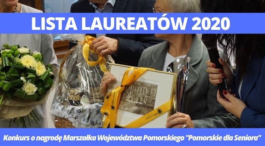 """Gratulujemy laureatom konkursu o nagrodę Marszałka Województwa Pomorskiego """"Pomorskie dla Seniora""""!"""