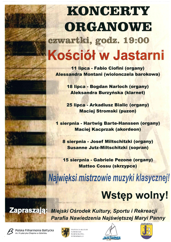 Koncerty organowe_plakat