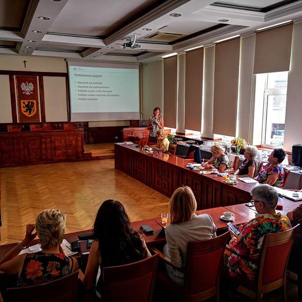 IX posiedzenie Pomorskiej Rady ds. Polityki Senioralnej