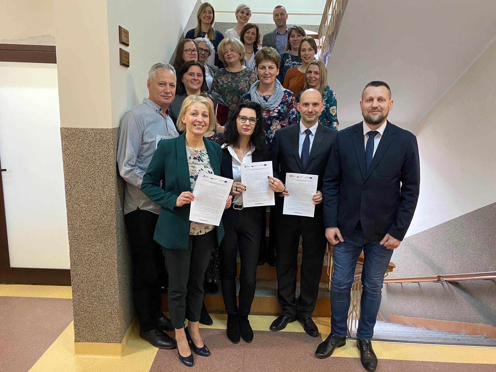 """Spotkanie w Skarszewach dotyczące podpisania porozumienia w ramach projektu """"Kooperacja – efektywna i skuteczna"""" [RELACJA]"""