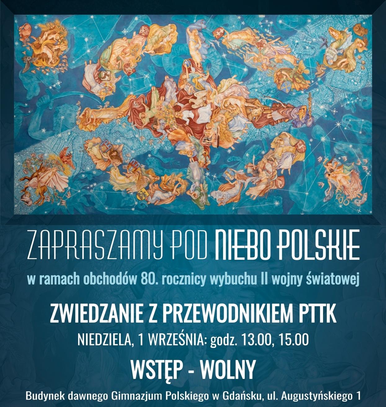 Plakat Niebo polskie - 1 września