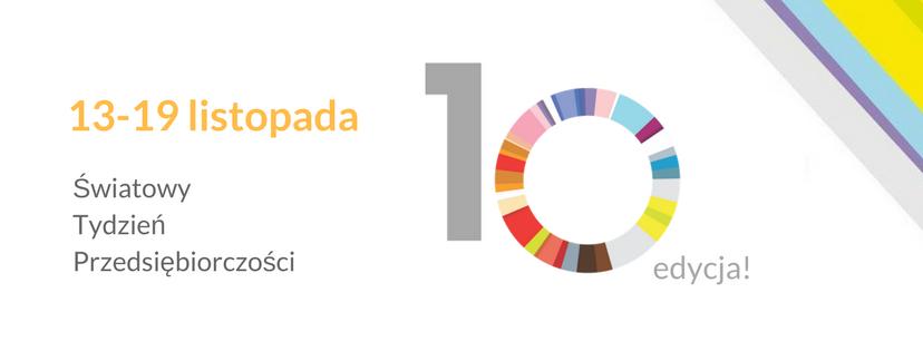 Światowy Tydzień Przedsiębiorczości 2017 - logo