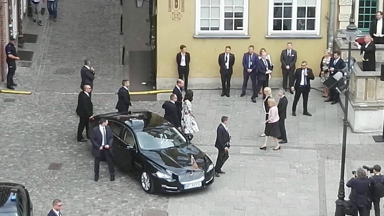 Księżna Kate i książę WIlliam przyjechali do Gdańska