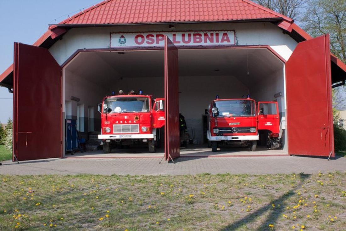 Nie tylko gaszą pożary. Strażacy-ochotnicy z Lubni nagrodzeni Florianem za działalność kulturalną