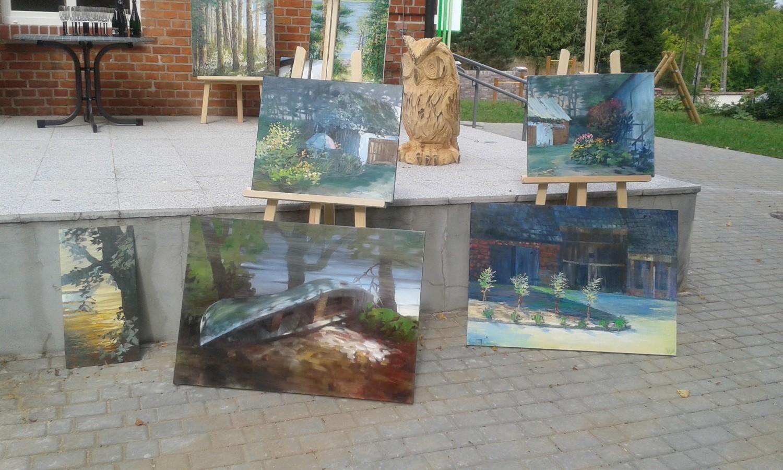 Gry, zabawy, wystawy i łowienie ryb w basenie! Dni Otwarte Funduszy Europejskich w Łupawsku
