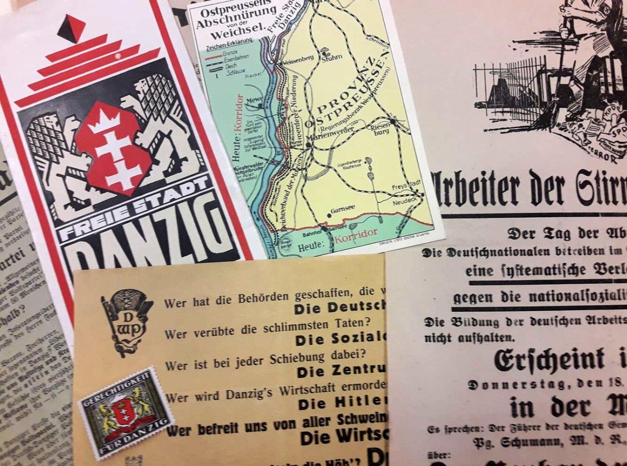 Przedwojenne reklamy, plakaty i ulotki. Pamiątki z Gdańska, którego już nie ma…